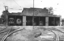 View enlarged image of the Trolley Barn from the east