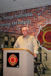 Retired CFD Battalion Chief Bob Walters recalls the loss of FF Hoffman.