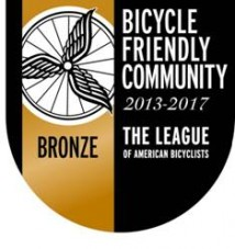 Bicycle Friendly Community Recognition Event is July 9